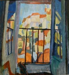 Rivello dal balcone, 1958