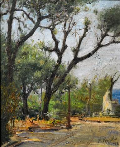 Pomeriggio in villa, 1942
